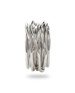 Anello Filodellavita collezione Classic argento handmade AN13A