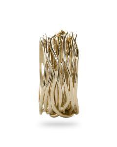 Anello Filodellavita collezione Classic handmade oro giallo AN13G