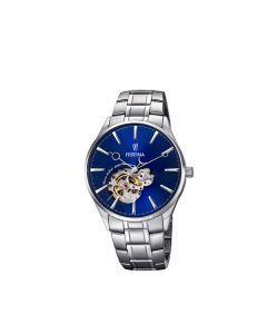 Festina orologio meccanico automatico blu uomo F6847/3