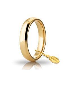 Fede Comoda da 5,85gr - 6,85gr e 4 mm in oro giallo 040AFC0010000