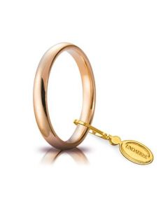 Fede Comoda da 3,85gr e 3mm in oro rosa 030AFC0010000