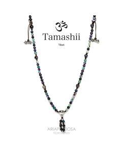 Collana tamashii agata amarena