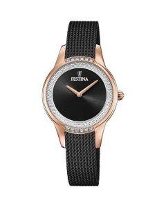 Festina orologio fashion black collezione mademoiselle elegante F20496/2