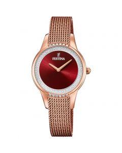 Festina orologio fashion red collezione mademoiselle elegante F20496/1