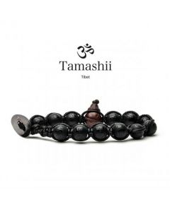 Bracciale Tamashii Onice nero opaco