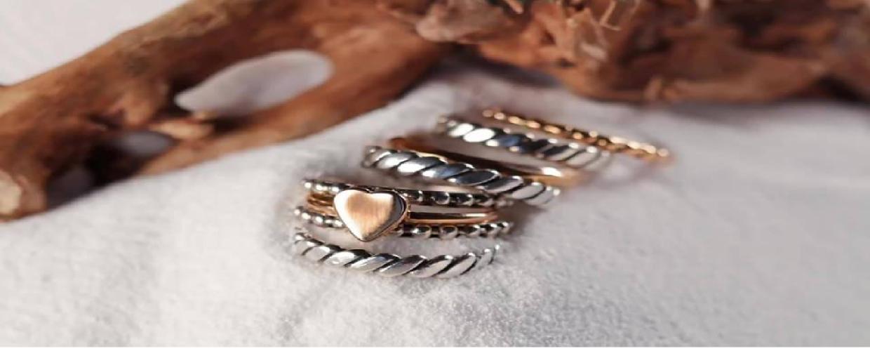 Cuori&Frecce: gioielli artigianali in oro rosa e argento